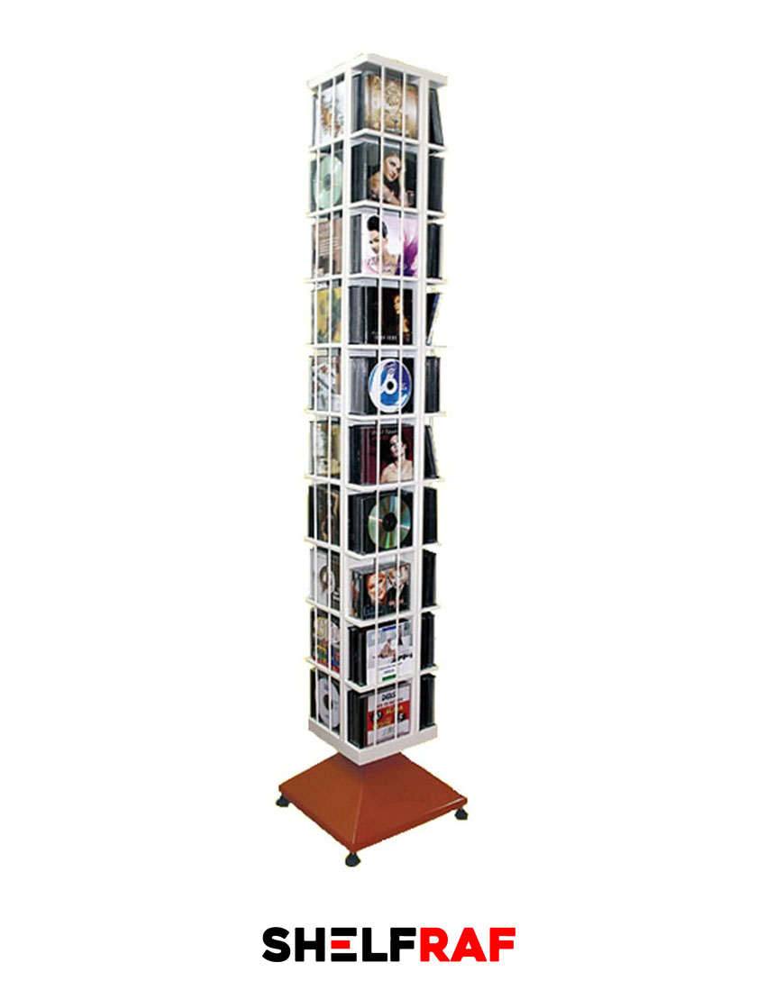 Rotating Cd Rack 53 Shelf Raf