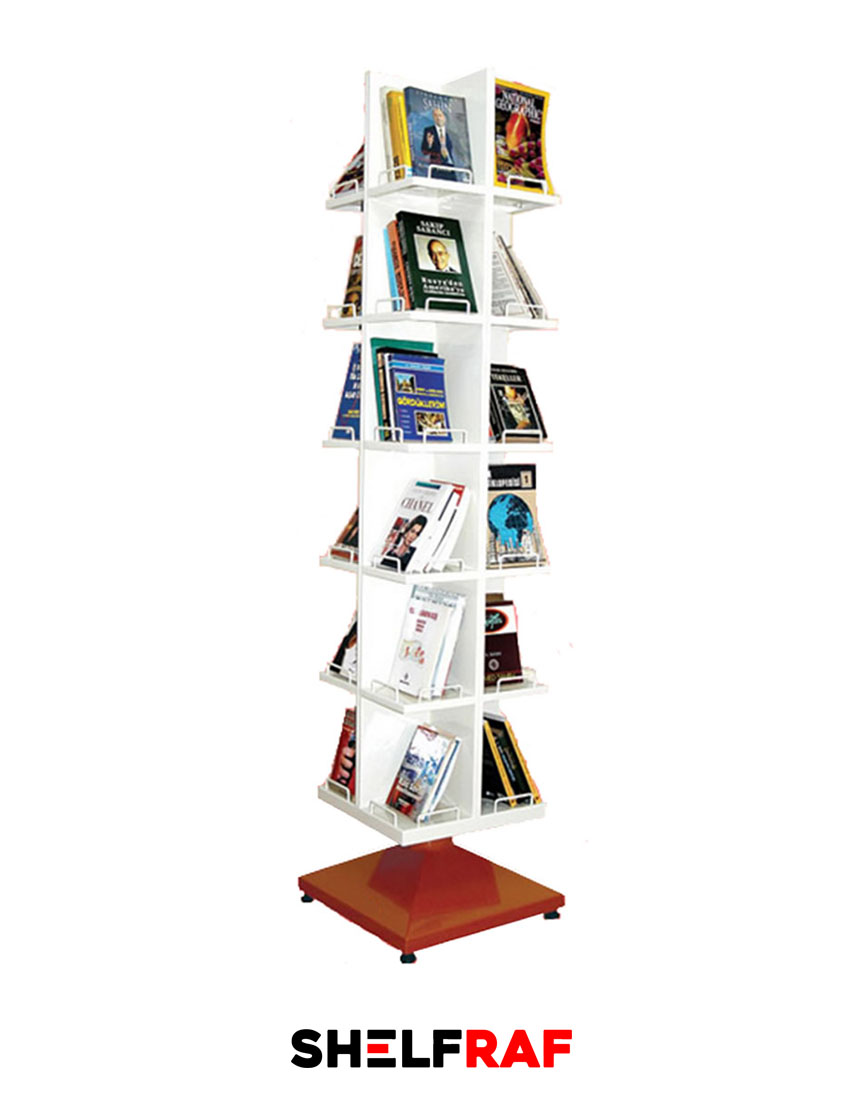 Rotating Bookshelf 13 – Shelf Raf