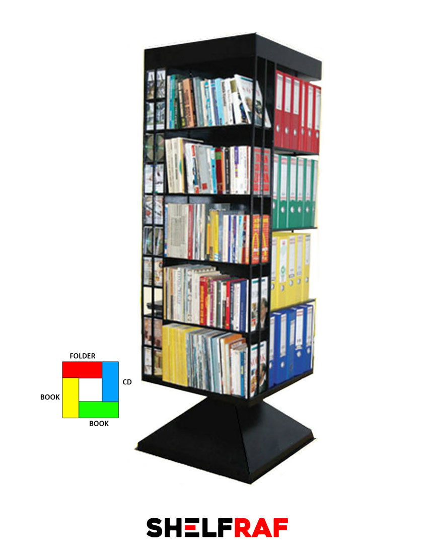 88e9315065c Rotating File Cabinet 6 – Shelf Raf