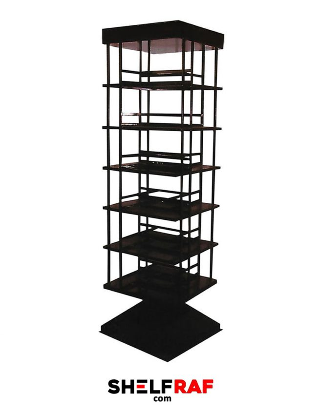 Rotating Bookshelf 3 – Shelf Raf